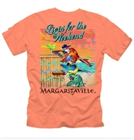 Men's Margaritaville Coral Weekend