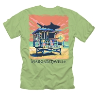 Men's Margaritaville Green Lifeguard Station