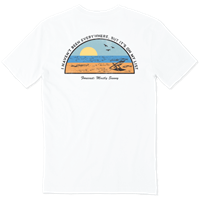 Life is Good Beach List Crusher Tee
