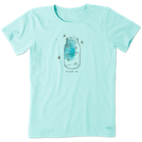 Life is Good Mason Jar Firefly Crusher Tee
