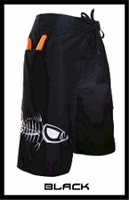 Tormenter Waterman Board Short in Black<BR>5 Pockets