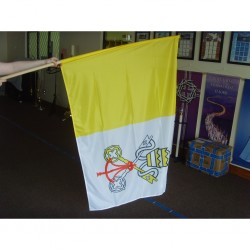 Flag of Vatican City 1.5m x 1m