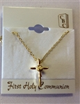 Gold first holy communion chain