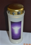 Our Lord November Memorial Candle White (30) (LORD)