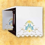 Our Lady Side Design Altar Cloth