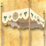 Embroidered Corpus Christi Canopy