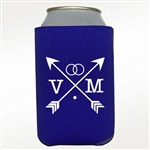 Custom imprinted neoprene koozie or can cooler
