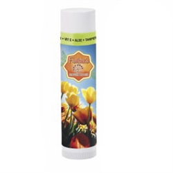 Personalized lip balm makes a great favor for a beach, tropical-themed or summer wedding