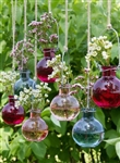 Fill this Glass Hanging Bud Vase with real or dried flowers for your Boho or Garden Wedding