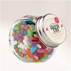 Customized Wedding Themed Candy Jar
