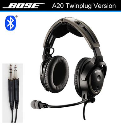 Bose A20 Straight Cord, Twin Plug, Bluetooth