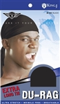EXTRA LONG TIE DU-RAG (DZ) 001 Black