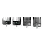 ANDIS GUARDS OUTLINER 4 PC SIZE 1/16″, 1/8″, 1/4″, 3/8″ #04640