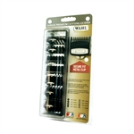 WAHL PREMIUM CUTTING GUIDES WITH METAL CLIP 8 PC PACK #3171-500