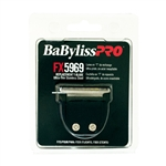 BABYLISS PRO TRIMMER T-BLADES ULTRA-THIN STAINLESS STEEL #FX5969 (FITS TO : FX59, FX69)