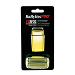 BABYLISS PRO SHAVER REPLACEMENT FOIL HEAD GOLD #FX2G