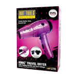 HOT TOOLS IONIC TRAVEL DRYER DUAL VOLTAGE #1044