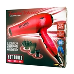 HOT TOOLS IONIC TURBO TOURMALINE TOOLS 2000 DRYER #1043RD