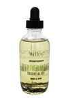 Wellos Aromatherapy Peppermint Essential Oil for Hair & Skin 4 Oz