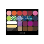NICKA K EYESHADOW PERFECT 23 MATTE COLOR #ST-AP9A (12 Pack)