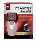 TURBO SHAVER SUPER POWERFUL SHAVING SHAPING&TRIMMING BURGUNDY
