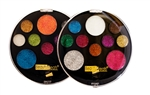 BEAUTY TREATS 10 COLOR PERFECT EYE GLITTER PALETTE (12 Pack)