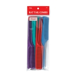 ANNIE RAT TAIL COMB SET 12 CT ASSORTED COLOR #17 (12 Pack)