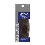 ANNIE EASY STYLE PROFESSIONAL MILITARY BRUSH (100% PURE BOAR) #2077 (12 Pack)