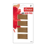 ANNIE BOB PINS 2″ 60 CT BRONZE #3109 (12 Pack)
