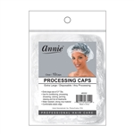ANNIE PROCESSING CAP 10 PC CLEAR XL #3552 (12 Pack)
