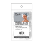 ANNIE PROCESSING CAP 3 PC CLEAR XL #3555 (12 Pack)