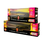 GOLD N HOT CERAMIC STRAIGHTENING IRONS