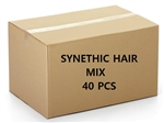 DISCONTINUED SYNTHETIC HAIR MIX 40PCS BOX
