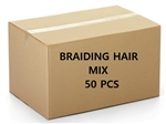DISCONTINUED BRAIDING HAIR MIX 50PCS BOX