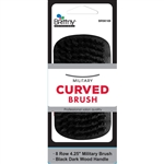 Brittny Military Curved Brush