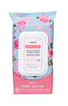 CALA MAKE-UP REMOVER CLEANSING TISSUES: Rose Water (DZ)
