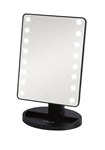 LED VANITY MIRROR: BLACK