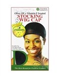 Donna Hair Treatment Stocking Wig Cap Black #22200