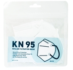 KN 95 FACE MASK (95% AIR FILTRATION) 10 CT/PK (10 Pack)