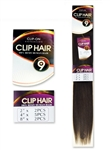 "9 pc Clip in Extensions 18"" - 100% Remy Human Hair"