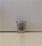 Metal Rt 66 Shot Glass