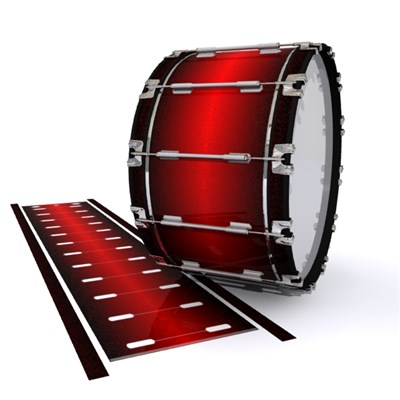 Dynasty 1st Generation Bass Drum Slip - Dragon Red (Red)