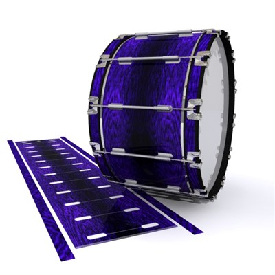 Dynasty 1st Generation Bass Drum Slip - Electric Purple Rosewood (Purple)