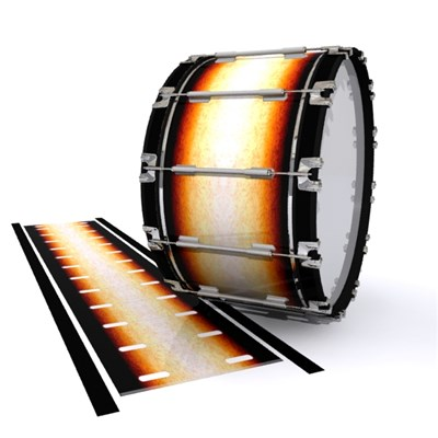 Dynasty 1st Generation Bass Drum Slip - Historic Dawn (Orange)