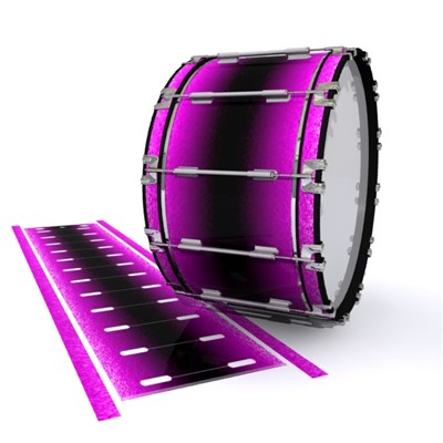 Dynasty 1st Generation Bass Drum Slip - Imperial Purple Fade (Purple) (Pink)