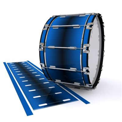 Dynasty 1st Generation Bass Drum Slip - Into The Deep (Blue)