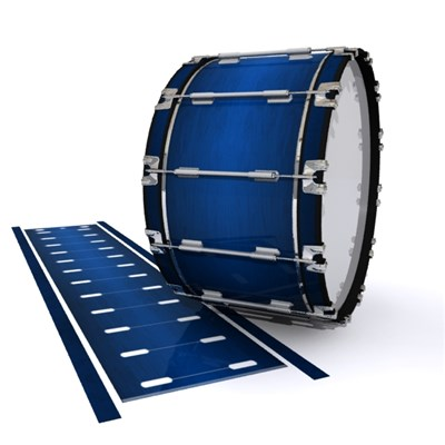 Dynasty 1st Generation Bass Drum Slip - Navy Blue Stain (Blue)