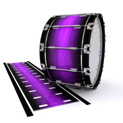 Dynasty 1st Generation Bass Drum Slip - Plasma Stain Fade (Purple)