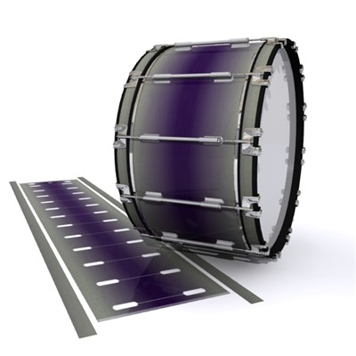 Dynasty 1st Generation Bass Drum Slip - Purple Grain Mist (Purple)