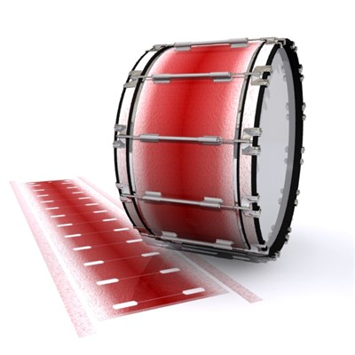 Dynasty 1st Generation Bass Drum Slip - Red Blizzard (Red)